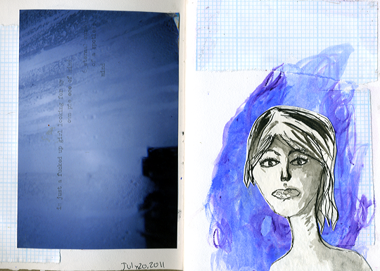 21 Days In My Sketchbook Day 1 ©Kendra Kantor from Like a Bird Blog