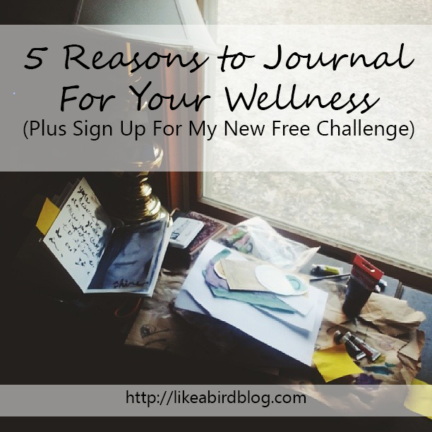 5 Reasons to Journal For Your Wellness (Plus Sign Up For My New Free Challenge) by Kendra Kantor