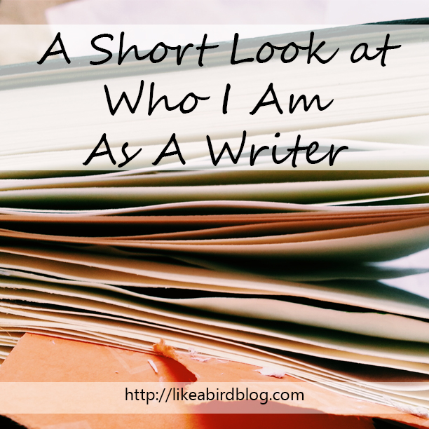 A Short Look at Who I Am As A Writer by Kendra Kantor